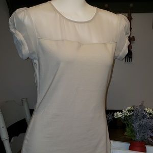 EXPRESS Cream Colored Blouse Size Small